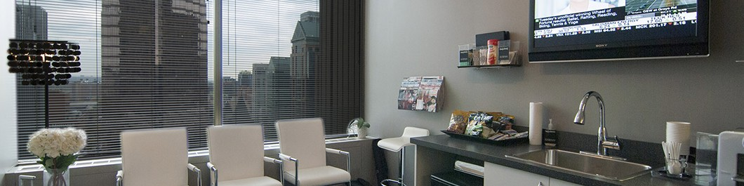 Waiting Area for Patients at The [Clinic] in Downtown Toronto
